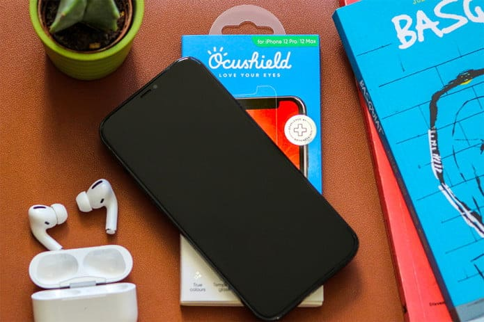 medically-approved anti-blue light screen protector