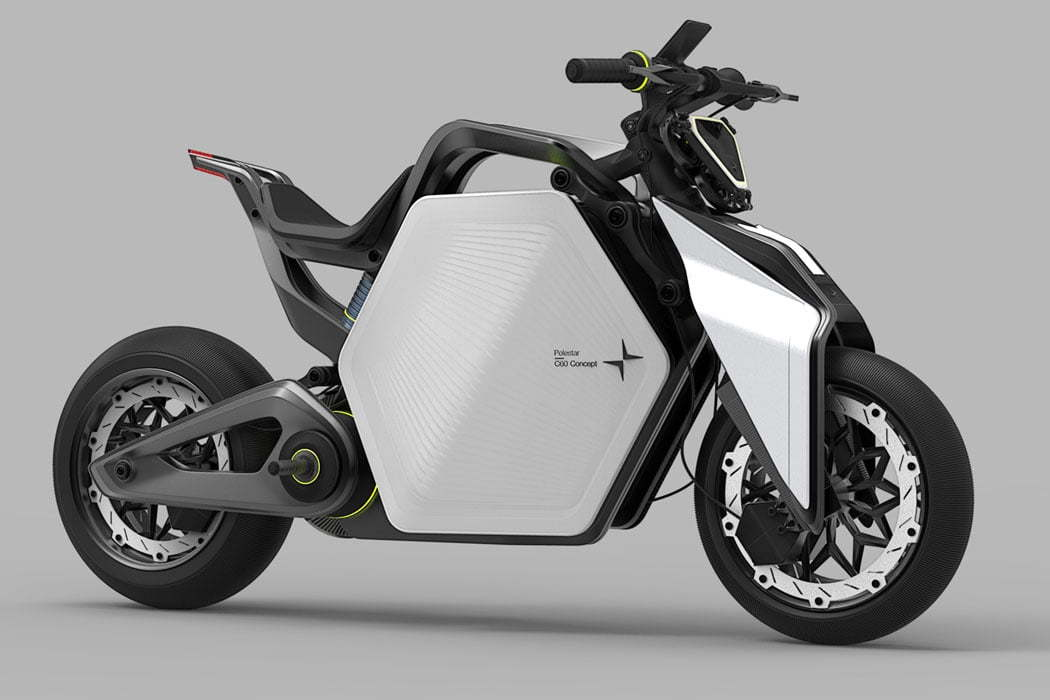 Drone-Equipped Electric Motorcycles