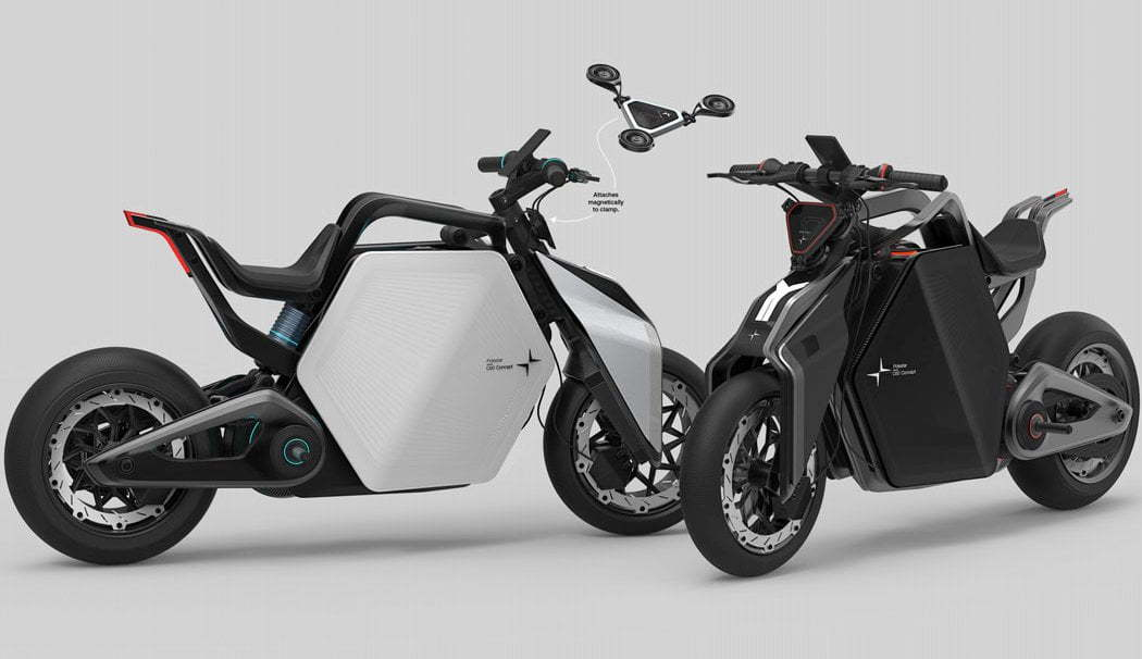 The Polestar C60 Concept Motorcycle